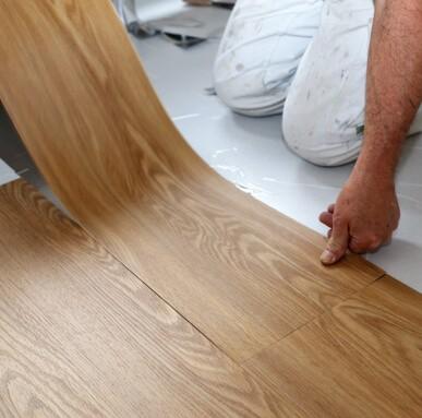 Laminate Vinyl tile installation | Hadinger Flooring