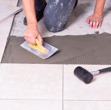 tile installation | Hadinger Flooring